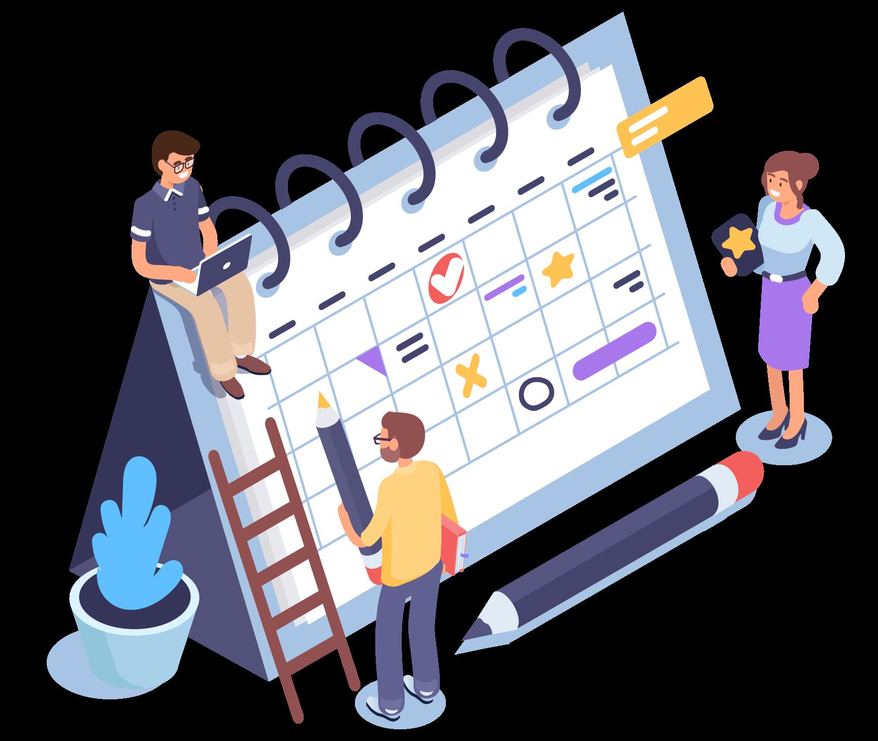 gestion des plannings pour vos collaborateurs