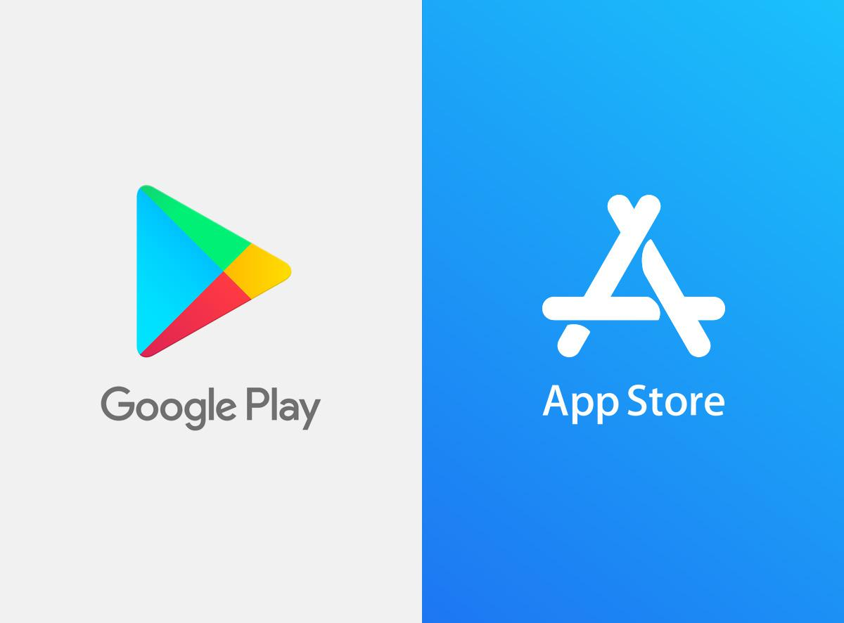 app store play store
